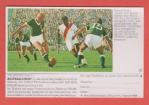 West Germany v Peru Schnellinger Patzke 1970 World Cup